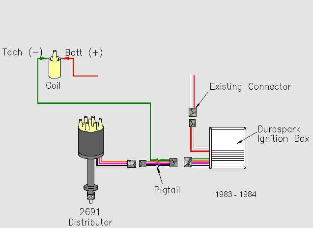 2 wire distributor wiring diagram 1999 land rover discovery