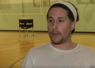"Guy Way Too Serious About Setting World Record For ""Most Three-Pointers In One Minute"""