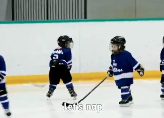 This Dad Mic'd Up His 4-Year-Old For Hockey Practice And It's The Most Adorable Sports Clip Ever