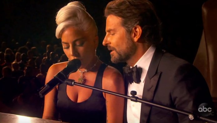 Gaga Wins Best Original Song And Delivers Steamy Performance With Bradley Cooper At Oscars