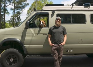 Former NFL Player Lives In A Van, Traveling The Country With His Dog