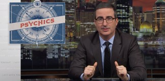 John Oliver Breaks Down The Scam That Is The Psychic 'Industry'