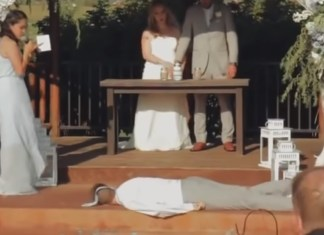 Best Man Faints During Wedding Ceremony, People Blame The Bridesmaid