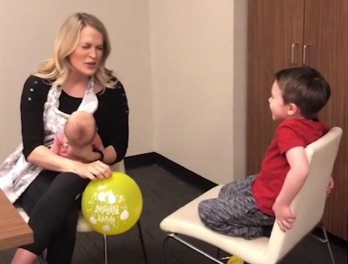 Free Beer and Hot Wings Carrie Underwood Sucks In Helium, Sings Happy Birthday To Son