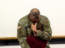 Deployed Tennessee Dad Surprises Son When He Returns Home Early