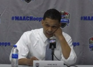 Monmouth Coach King Rice Calls Out MAAC During Postgame Press Conference