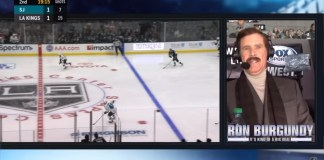 Will Ferrell Does Play-By-Play For LA Kings In Character As Ron Burgundy