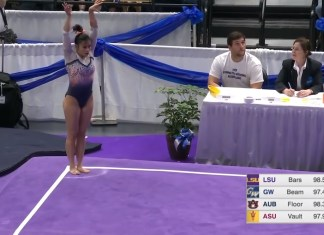 Watch If You Dare: Auburn Gymnast Dislocates Both Knees