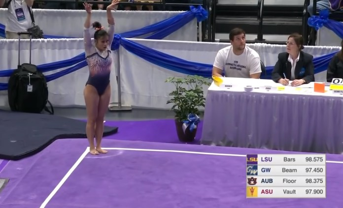Watch If You Dare: Auburn Gymnast Dislocates Both Knees
