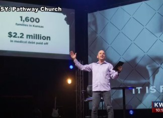 Kansas Church Pays Off $2.2 Million In Debt For 1,600 Families