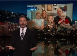 Jimmy Kimmel Interviews Family Whose Kid Shaved Siblings' Heads