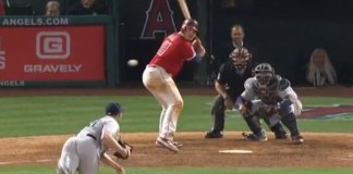 Angels' Justin Bour Gives Up Double-Play With Unbelievable Brain Fart