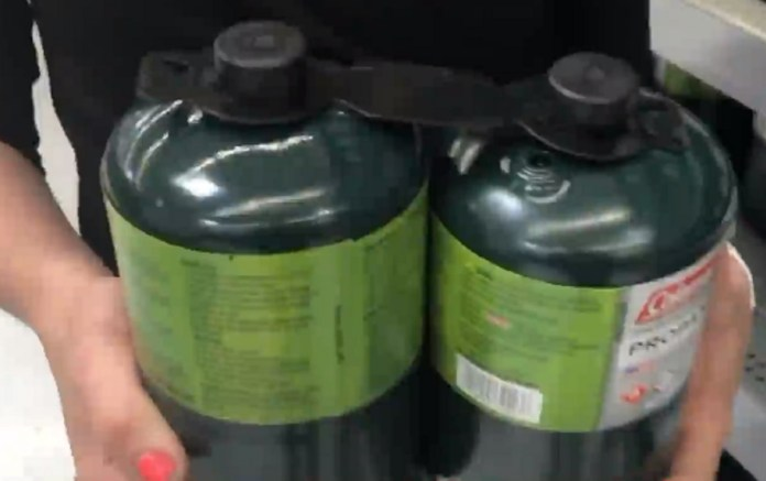 Attempted Shoplifter Arrested After Trying To SteaI Propane Tank In Pants