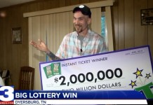 Tennessee Man Wins $2 Million Off Scratch-Off, Assures Everyone He's Still A Redneck