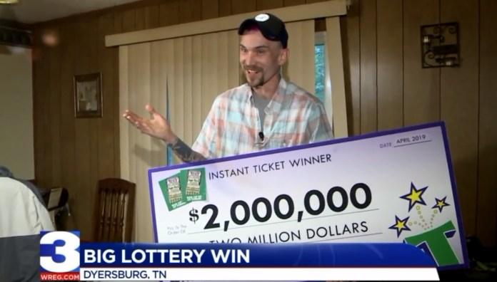 Tennessee Man Wins $2 Million Off Scratch-Off, Assures Everyone He's Still A Redneck