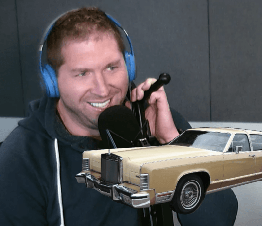Free Beer and Hot Wings Joe's Dream Of A Lincoln Continental Town Car Coffee Table
