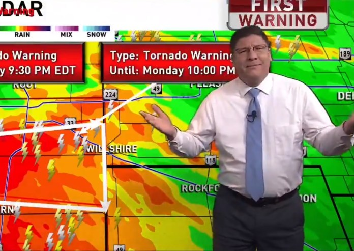 Meteorologist Freaks Out On 'Bachelorette' Viewers With Tornado Coverage