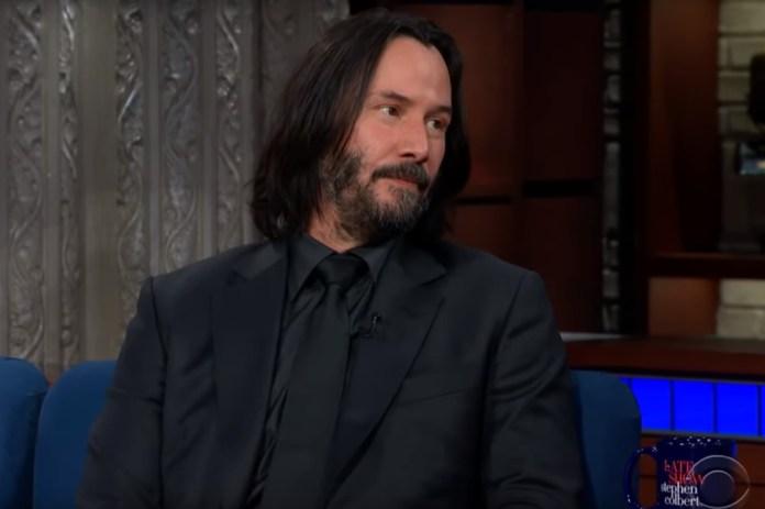 Keanu Reeves Gets Deep Answering