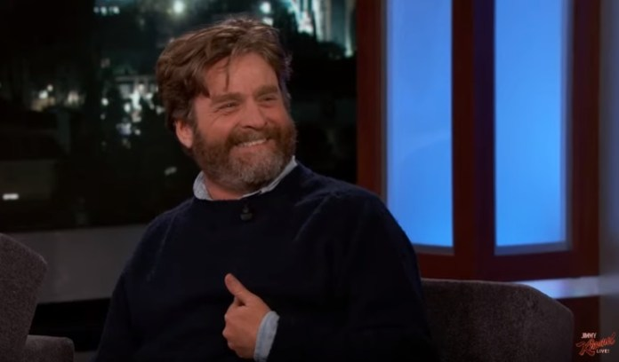 Zach Galifianakis Says David Letterman Gave Funny Thank-You Gifts