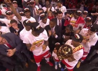 Toronto Raptors Defeat Golden State Warriors To Win NBA Championship