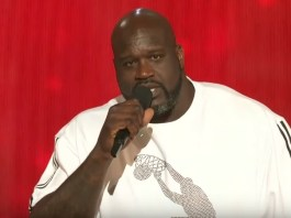 Shaq Hosts The NBA Awards, Opens Show With A Rap