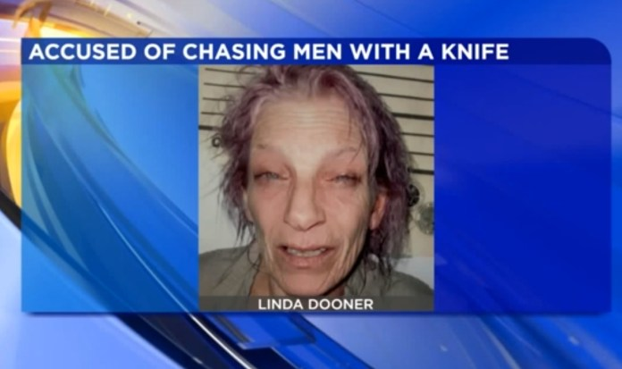 Pink-Haired Pennsylvania Woman Arrested Threatening Men With Knife At Pharmacy