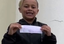 Nine-Year-Old Boy Pays for Entire Class's Lunch Money Debt With His Allowance