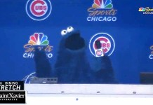 Cookie Monster Sings 'Take Me Out To The Ball Game' At Cubs Game