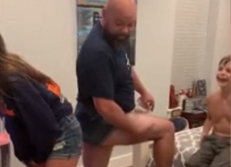 Dad Threatens To Wear Daisy Dukes If Daughter Wears Hers