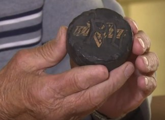 88-Year-Old Finds Hockey Puck He Lost As A Child