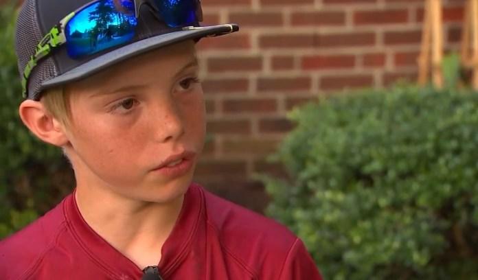 11-Year-Old Thwarts Burglar With Machete