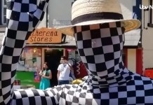 Mystery Mime Man Swindles Town During Village Carnival