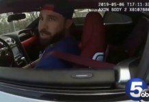 Body Cam Footage Shows The Moment Officer Burns Indians' Jason Kipnis