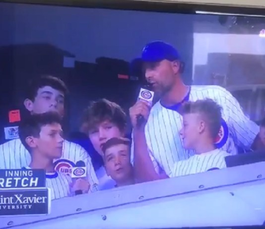 Matt Nagy Says 'Penis' Instead of 'Peanuts' During Cubs' 7th Inning Stretch