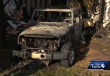 Jeep Crashes Into Home Starts Massive Fire