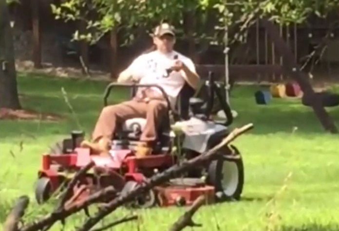 Groundskeeper Pulls Gun On Man Over Property Line