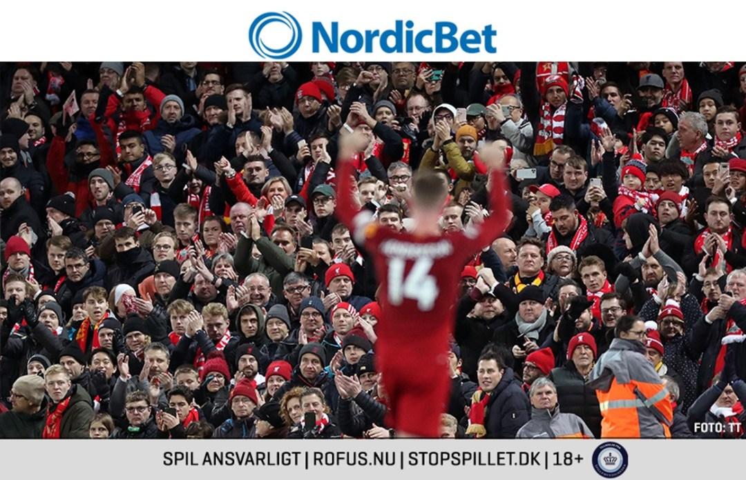 Premier League er afgjort – vinderspil på Liverpool udbetales