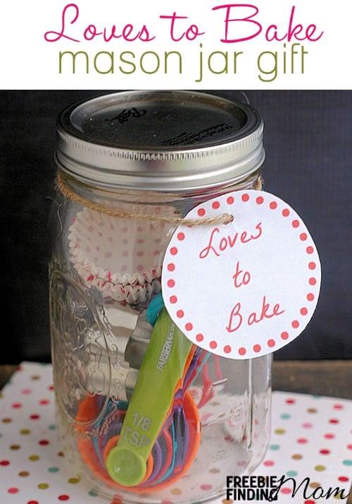 12 Days Of DIY Gifts In A Jar Loves To Bake Mason Jar Gift