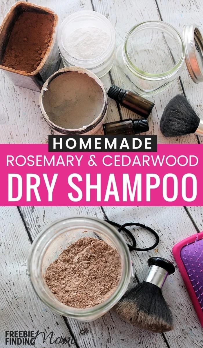 Homemade Dry Shampoo Recipe Rosemary And Cedarwood Dry