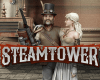 Steam Tower Slot Logo