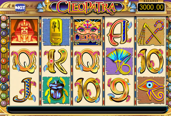 cleopatra slot igt review