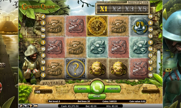 Gonzo Quest Netent slot review