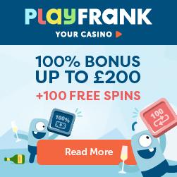 Playfrank free spins Starburst