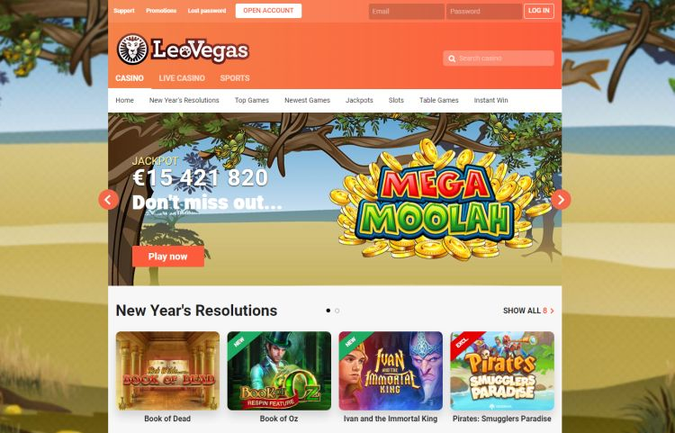 Leovegas casino review UK