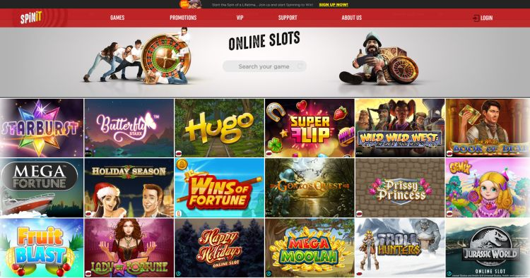 Spinit Casino review uk