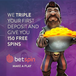betspin 200% welcome bonus