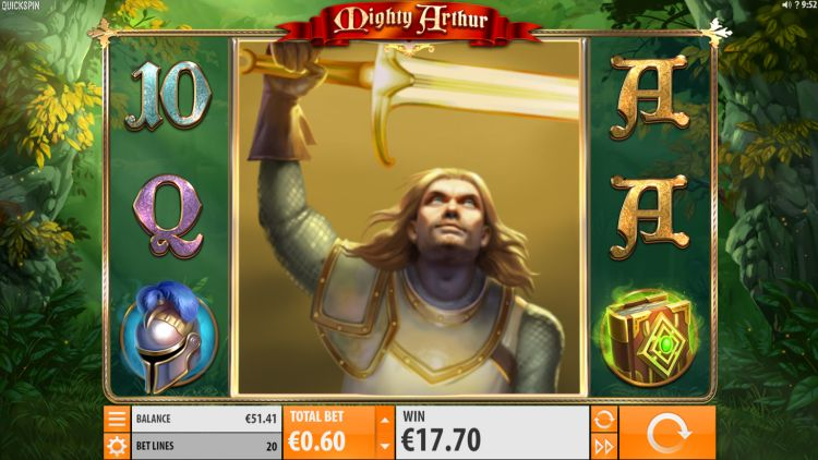 Mighty Arthur Slot quickspin