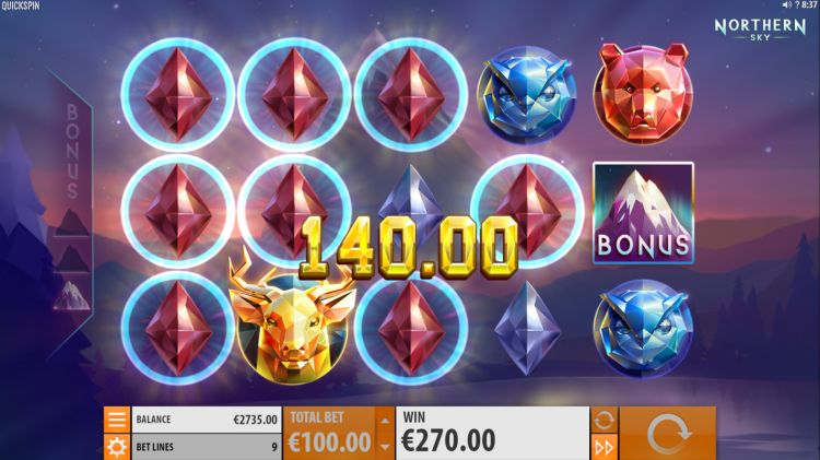 Northern Sky slot review Quickspin
