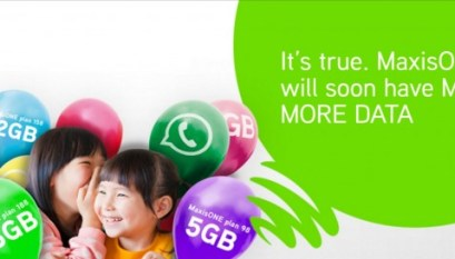 Maxis RM68 Plan with 5GB Data and Unlimited Calls - Freebies MY