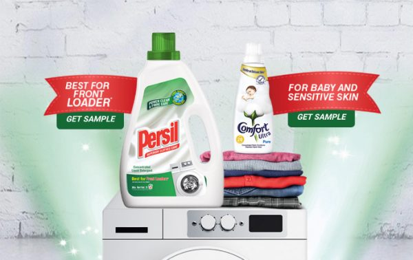 Persil and Comfort Free Sample Giveaway